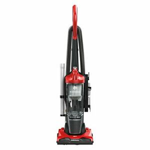 Commercial Lightweight Bagless Upright Vacuum,Gray/red Lightweight Floor Cleaner