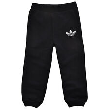 adidas Originals Baby Boys Toddlers Cuffed Joggers Bottoms Black 9 Mths - 3 Yrs