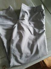 Underarmour Boys Youth Xl Golf Pants Dryfit Grey Pants