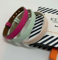 Keep Collective: Quilted Single Leather Bands - Blush, Mint and Pink