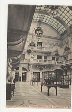 The Wills Art Gallery Bristol, The Great Hall No.1 1906 Postcard, M031