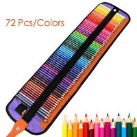 72 Color Fine Art Marco Drawing Non-toxic Oil Base Pencils Set for Sketch School