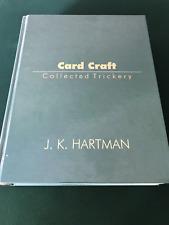 CARD CRAFT Collected Trickery by J.K. Hartman, Richard Kaufman