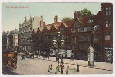 London postcard - Old Houses, Holborn (A760)