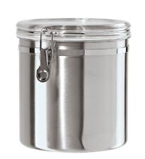 Oggi Jumbo Stainless Steel Kitchen Canister , New, Free Shipping