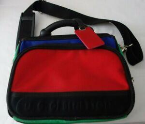 GENUINE UNITED COLORS OF BENETTON CAMERA/ TRAVEL/ MESSENGER BAG USED