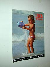 revue LEICA FOTOGRAFIE N°4 1968 FULVIO ROITER photo photographie