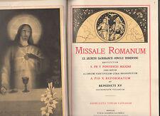 misal romano ex decreto sacrosanta concilii tridentini restitutum.pio V