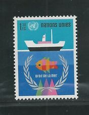 United Nations, Geneva # 45 Mnh 1974 Law Of The Sea
