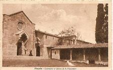 FIESOLE  -  Convento e Chiesa di S. Francesco