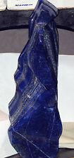 Afghan Lapis Lazuli lapidary 21.3 lbs Polished Carved dark blue, pyrites