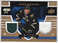 Mike Modano 2008-09 Upper Deck Trilogy Honorary SWATCHES #HSMM