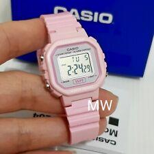 Casio Ladies Girls Kid's Sport Pink Resin Band Digital Watch LA-20WH-4A1