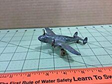 Vintage Metal Tootsietoy? U.S.N. 3-B-4 airplane, folding landing gear! Free ship