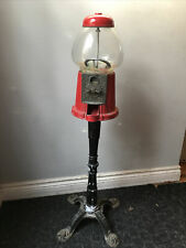 vintage gumball machine with stand, Canadian Product Made In Taiwan.