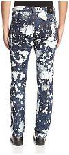 Versace Men's Splatter Print Slim Jeans Size US 38/ IT 52 Authentic