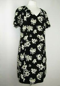 George ladies loose dress flower pattern size 12 eur 40 🌷