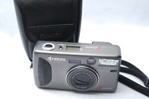 KYOCERA T ZOOM Yashica T4 Point & Shoot 35mm Film Camera From Japan #A79