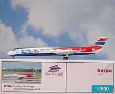 Herpa Wings 1:500 McDonnell Douglas MD-82 One-Two-Go  507868  Modellairport500