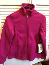 Women's Mid WT Core Sweater Pink- Rasberry color, Size M