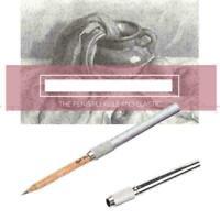 1x Pencil Extender Holder Writing Tool Metal Writing Delicate Office Statio Y4N1
