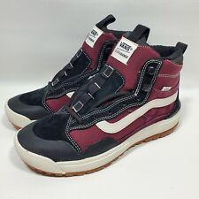 Vans Ultrarange Exo HI All Weather MTE Sneakers Men's Size 8 Maroon/Black NEW