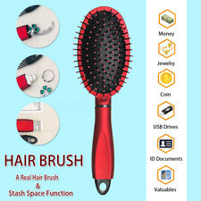 Real Hair Brush Safe Hidden Stash Secret Box Money Jewelry Diversion Hider Can