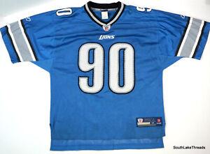 Detroit Lions NFL Ndamukong Suh Reebok Mens Jersey NFL Football Medium