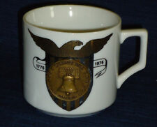 Bicentennial LIBERTY BELL Mug w/eagle and Coin Emblem on front