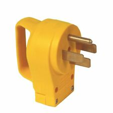 Camco 55255 50 AMP PowerGrip electrical cord male Replacement Plug end w handle