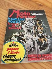 MOTORRAD REVISIÓN 2203 75 Kawasaki KZ 400 Ossa 125 enduro póster lateral Enders