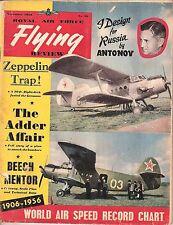 RAF FLYING REVIEW NOV 56 FACSIMILE: YAK12M/MACCHI LINE/ BEECH T34 CUTAWAY/NELLIS