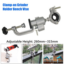 Electric Grinder Clamp-on Rotary bracket Electric Drill Stand Holder Bench Vise