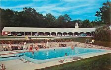 Millers Falls Massachusetts~French King Motel~Bathing Beauties~Pool~1960s Cars