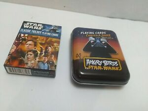 STAR WARS Classic Trilogy 2010/ Angry Birds Star Wars Cards