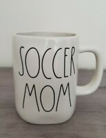 NEW RAE DUNN by Magenta SOCCER MOM Coffee Tea Mug Farmhouse Home Decor