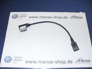Volkswagen Adapter für Multimediabuchse MEDIA-IN auf USB 000051446B
