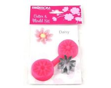 DAISY- Blossom Sugar Art Cutter and Veining Mould Set Flower FREE P&P