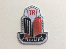 TRIUMPH THERMOCOLLANT 11.5*3.5 CM ECUSSON PATCHES AUFNAHER TOPPA