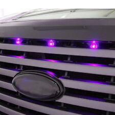 Ford F-150 Raptor Grille Style Light Kit Purple LED Light X3 SVT Truck Upgrade