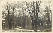 Westbrook ME~Westbrook Seminary Campus in Early Spring~1920s Real Photo Postcard