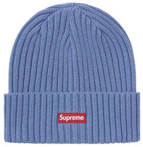 SUPREME HAT: *NIB* OVERDYED BEANIE YELLOW SS21 ~BRAND NEW~