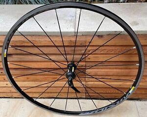 Mavic Aksium front wheel 700c. rim brake