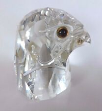 Swarovski  Silver Crystal  ~ Giant Falcon Head ~ 010064