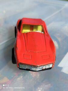 VNTG. CHEVROLET CORVETTE STINGRAY COUPE SPORTS CAR TIN TOY CHINA MF310 FRICTION
