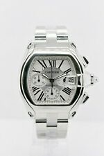 CARTIER ROADSTER 2618 STAINLESS STEEL 40 MM
