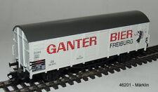 """Märklin 46201 - insider-wagen 2004: Vagón de Carga Cerrado """"Ganter ' nuevo emb."""