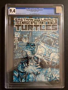 TEENAGE MUTANT NINJA TURTLES 1985 1ST PRINTING #3 CGC 9.4 (W/P) BRAND NEW CASE!