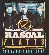 Rascal Flatts 2012 concert tour t-shirt Xl new, has never been worn.