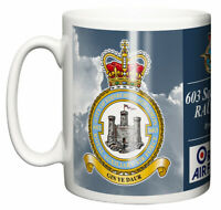 603 Squadron RAUXAF Ceramic Mug, Based in Edinburgh